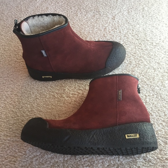 Bally Shoes - Bally Curling Boots 316407daec875